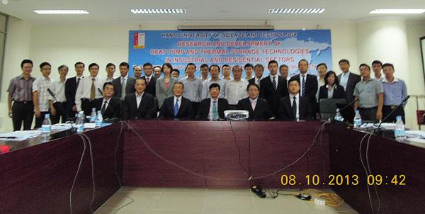 亚洲热泵与蓄热科技联盟第三次会议顺利召开