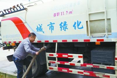 清镇目前每天回用中水3000余立方 污水处理来保洁(图)